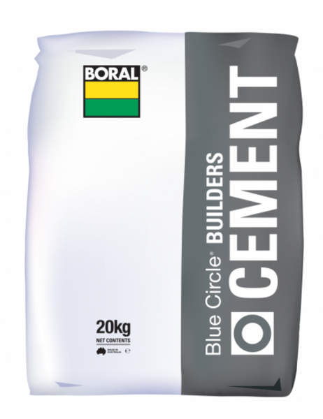 CEMENT BORAL Builders GREY 20Kg
