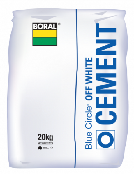 CEMENT BORAL Off White 20Kg