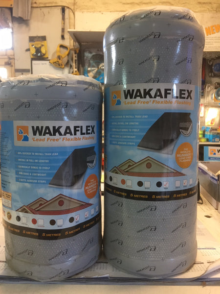 Wakaflex Flashing 370mm LEAD GREY.