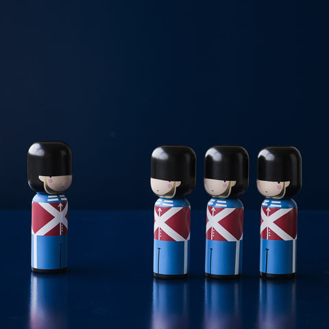 Danish Guard Kokeshi Doll by Sketch.inc for Lucie Kaas