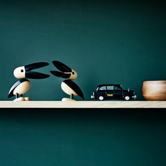 designer wooden objects wooden animals pelican by lucie kaas