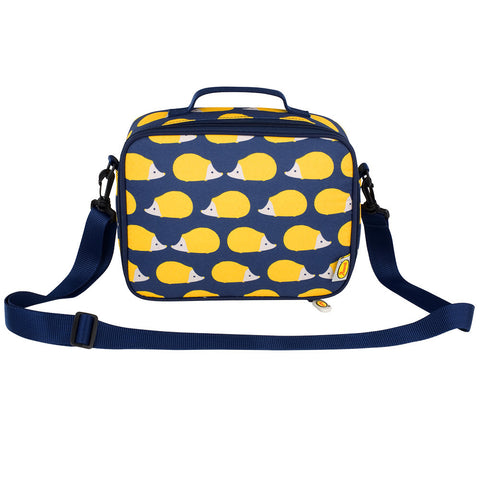 Anorak Kissing Hedgehogs Insulated Lunch Bag