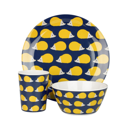 Melamine bowl plate and cup set, perfect for picnics or kids