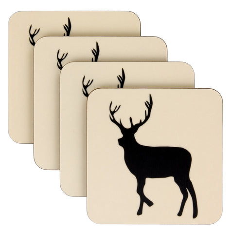 Coaster Set | Kissing Stags