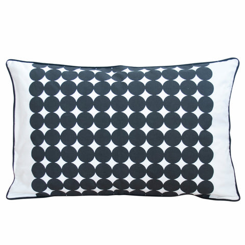 albert black cushion, scandinavian design