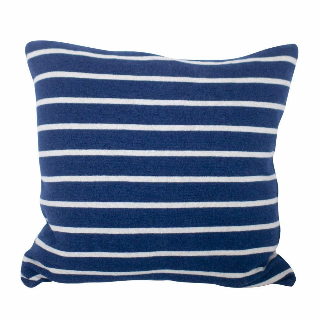 cushion navy white scandinavian textiles and home decor online