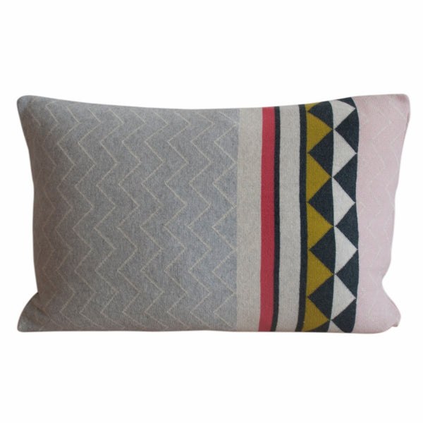 geometric pattern cushion, scandinavian design and homewares online