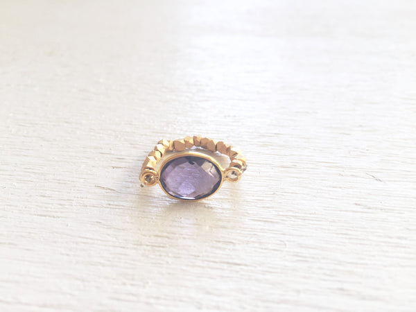 Amethyst Stretch Ring