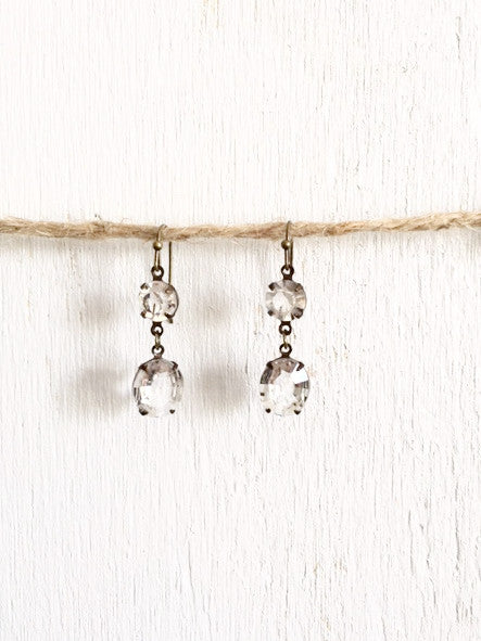 Rhinestone Earrings - Bency Co. Jewelry - 1