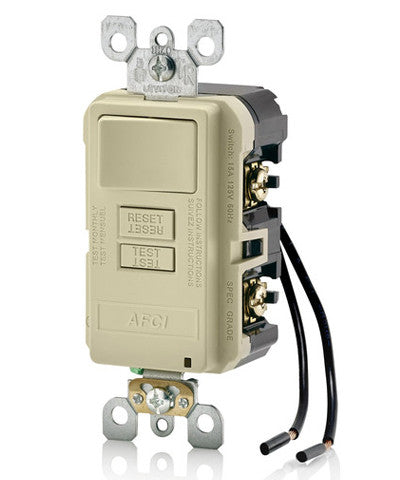 Combination AFCI with Switch, AFSW1 - Leviton - 3