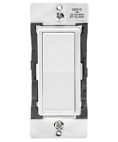 Decora Digital Switch and Timer with Bluetooth Technology, 15-Amp, Dual Voltage, 120/277VAC, DDS15-BDZ - Leviton - 1