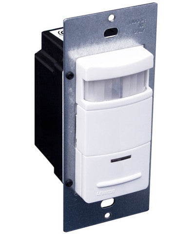 Decora Passive Infrared Wall Switch Occupancy Sensor, Various Colors Available, ODS10-ID - Leviton - 1