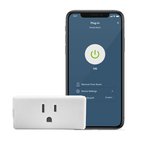 Decora Smart Wi-Fi Mini Plug-In Switch (2nd Gen), D215P-2RW