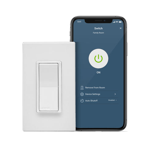 Decora Smart Wi-Fi 15A Switch (2nd Gen), D215S-2RW