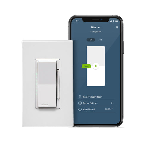 Decora Smart Wi-Fi Dimmer (2nd Gen), D26HD-2RW