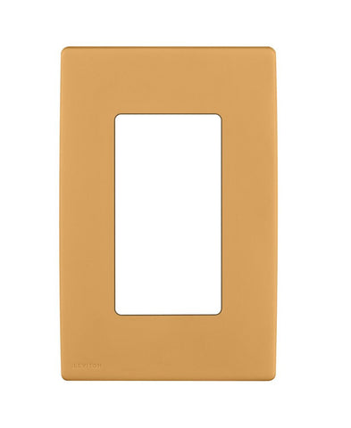 Renu 1-Gang Screwless Snap-On Wall Plate, REWP1 - Leviton - 1