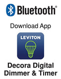Decora Digital Switch and Timer with Bluetooth Technology, 15-Amp, Dual Voltage, 120/277VAC, DDS15-BDZ - Leviton - 4