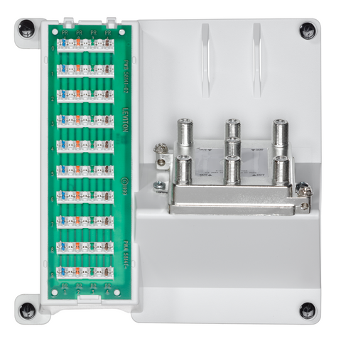 Compact Series: Telephone and 6-Way Video Panel, 47603-2G6