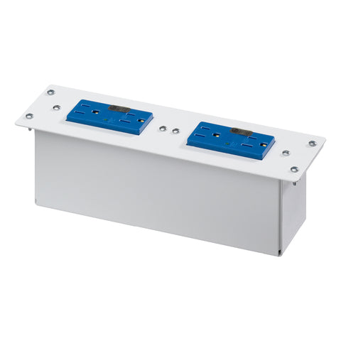 Double Duplex AC Power Module with Surge Protection, White, 47605-DP