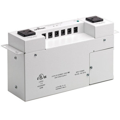 Versatile Power Supply for Structured Media Cabinet, 47605-PSC - Leviton