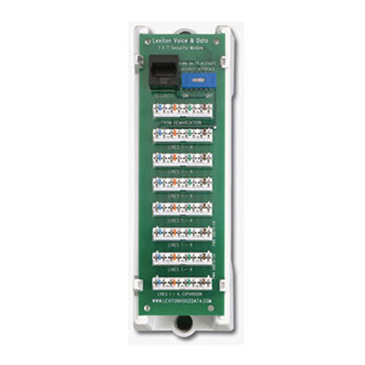 1x7 Telephone Security Module, 47609-TSV - Leviton