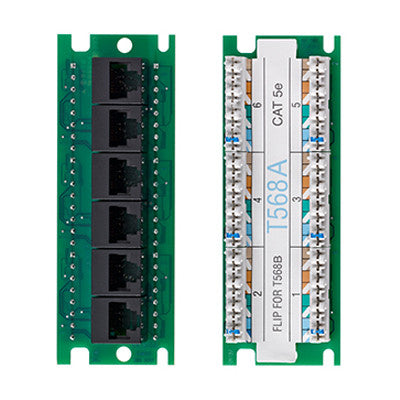 Twist And Mount Expansion Board 6 Port Cat 5e 476tm Ex5