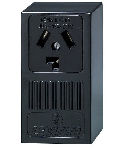 30 Amp 125 250 Volt Surface Mounting Receptacle