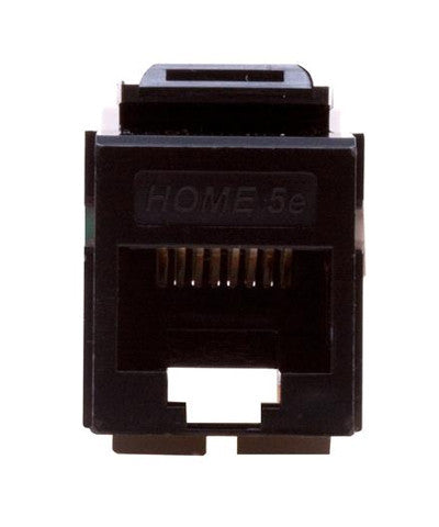 Home 5e Snap-In Connector, T568A Wiring, Available in 7 Colors, 5EHOM - Leviton - 1