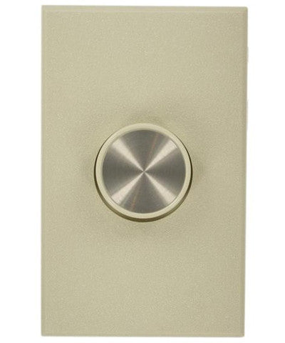 Van Gogh Preset Electro-Mechanical Incandescent Rotary Dimmer, 800W, 3-Way, Narrow Fin, Ivory, 60800-3I - Leviton