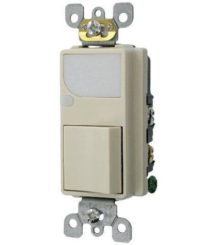 Combination Decora Switch and LED Guidelight, Light Almond, 6526-T - Leviton