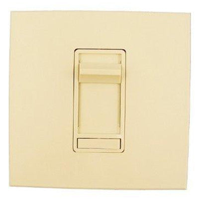 Architectural Slide Fluorescent Dimmer, 120 VAC, Decora Frame, For 6 to 30 Rapid Start 40W Lamps, Ivory, 86678-1I - Leviton