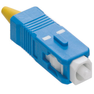 Fast-Cure SC Fiber Optic Connector (Blue), OS2 (Singlemode), for 900µm and 3mm application, 49990-SSC