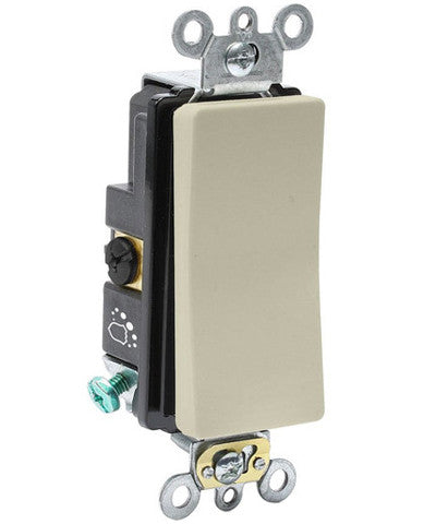 Antimicrobial Treated Decora Plus Switch, 20-Amp, 120/277-Volt, 3-Way, A5623-2 - Leviton - 1