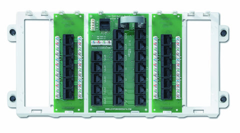 12-Port Structured Media Panel, White, 47603-12P - Leviton