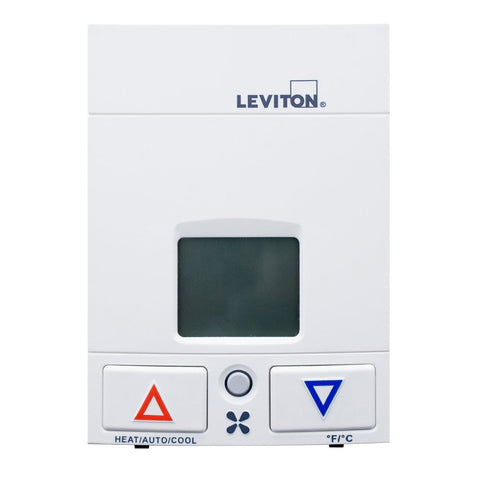 Thermostat, 24VAC, WS0TH-D00 - Leviton