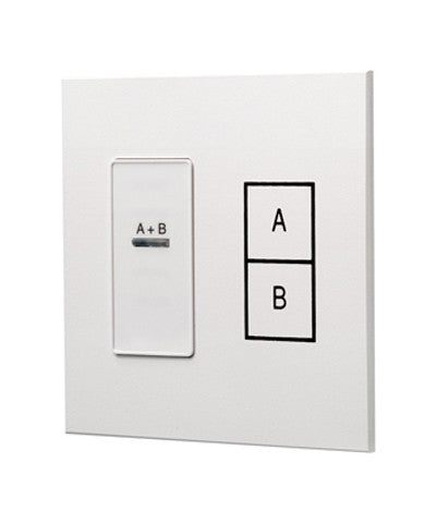 Dimensions Combine Station, 2 Rooms with 1 Moveable Wall, White, D42CS-1W - Leviton