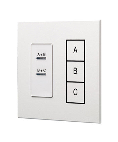 Dimensions Combine Station, 3 Rooms with 2 Movable Walls, White, D42CS-2W - Leviton