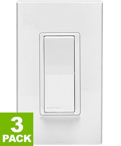 Decora Smart Switch with Z-Wave Plus Technology, DZ15S-1BZ - 3-Pack