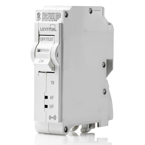 15A Smart AFCI/GFCI Branch Circuit Breaker, LB115-DS