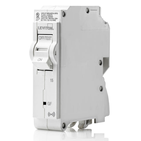 15A Smart GFCI Branch Circuit Breaker, LB115-GS