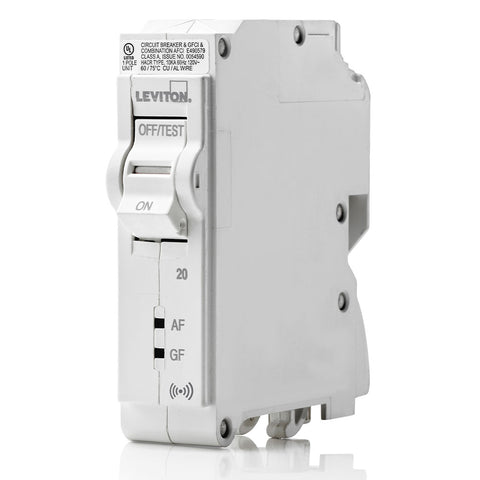 20A Smart AFCI/GFCI Branch Circuit Breaker, LB120-DS