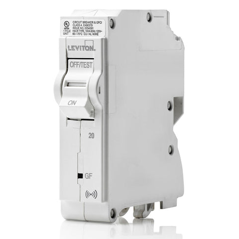 20A Smart GFCI Branch Circuit Breaker, LB120-GS