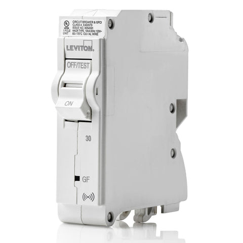 30A Smart GFCI Branch Circuit Breaker, LB130-GS