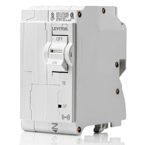 15A Smart GFPE 2-Pole Branch Circuit Breaker, LB215-ES
