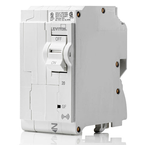 20A Smart GFCI 2-Pole Branch Circuit Breaker, LB220-GS