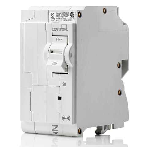 20A Smart Standard 2-Pole Branch Circuit Breaker, LB220-S