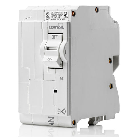 30A Smart Standard 2-Pole Branch Circuit Breaker, LB230-S