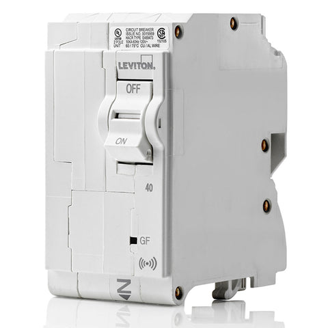 40A Smart GFCI 2-Pole Branch Circuit Breaker, LB240-GS