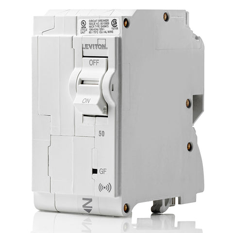 50A Smart GFCI 2-Pole Branch Circuit Breaker, LB250-GS
