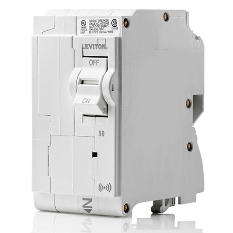 50A Smart Standard 2-Pole Branch Circuit Breaker, LB250-S